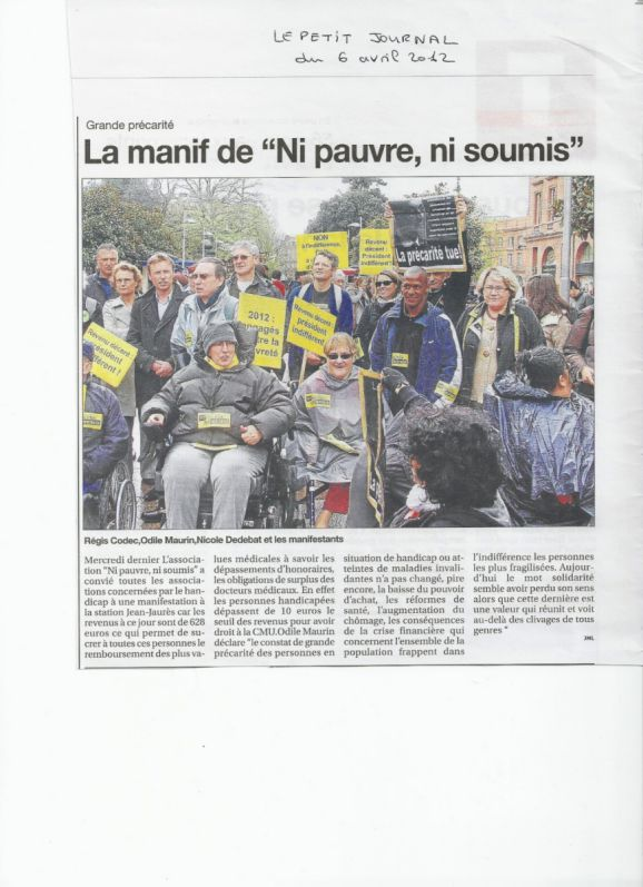 Le Petit Journal du 6 avril